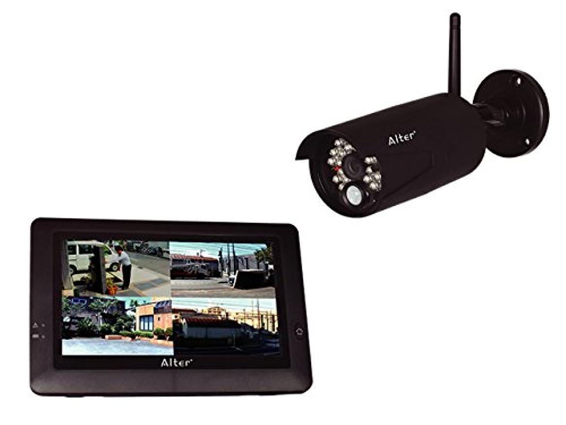 水没アサーナプキンキャロットシステムズ オルタプラス ハイビジョン無線カメラ&モニターセット AT-8801