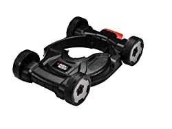 Compatible with STC1820, STC1815, ST5530, ST4525, GL5028, STC1820D, ST5528, GL5530 Wheeled base allows you to use your Strimmer like a mower, for easier and more consistent cutting Adjustable wheels allow you to easily change the height of cut (eithe...
