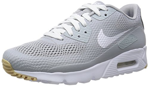 Nike Herren Air Max 90 Ultra Essential Turnschuhe, Gris (Wolf Grey/White-Wolf Grey), 40 EU