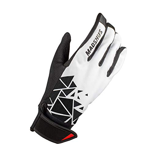 Madshus Unisex-Erwachsene PRO Glove Handschuhe, Weiß, 5