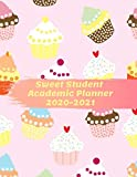 Sweet Student Academic Planner 2020-2021: Daily Organizer Calendar Class Schedule, School Assignment Tracker, Grade Log Book, Goals, Notes Pages, Weekly Monthly (School Organizer)