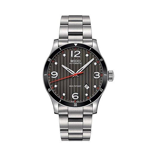 MIDO Reloj Analógico para Hombre de Automático con Correa en Acero Inoxidable M0254071106100