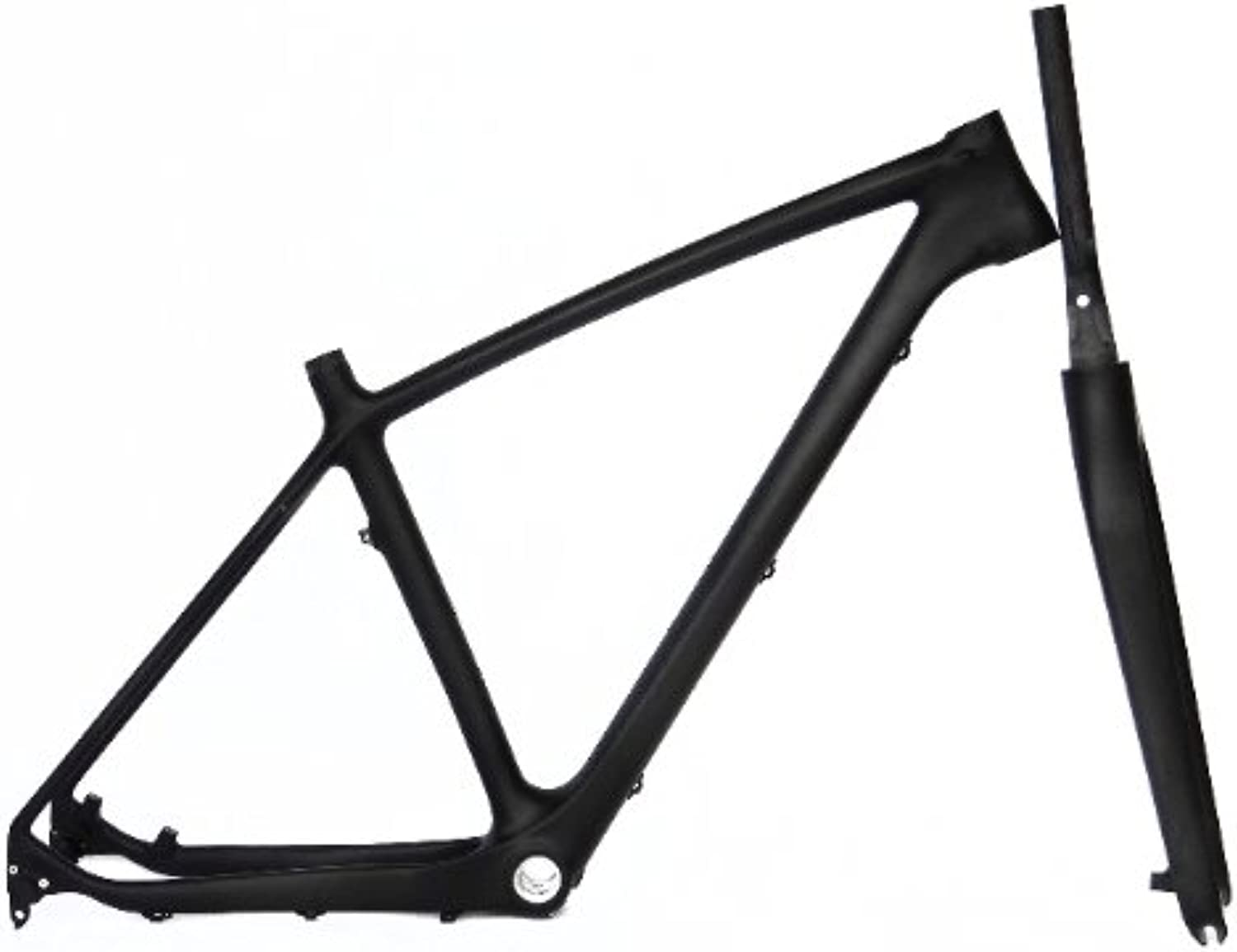 Full Carbon UD Matt Matte 27.5er Mountain Bike MTB 27.5  Wheel BSA Frame And Fork 17