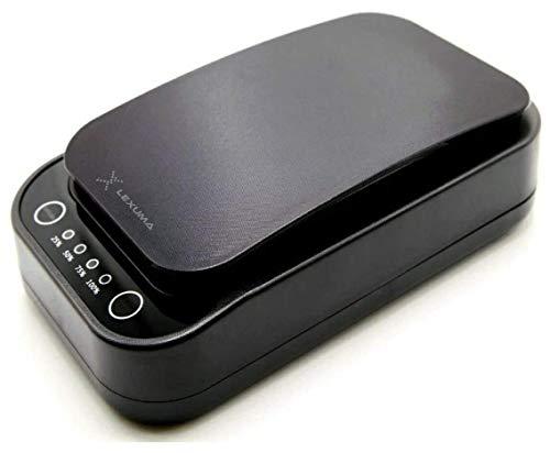 Lexuma XGERM – Esterilizador Smartphone UV portátil, desinfectante, mata hasta el 99,9% de Virus y bacterias y esteriliza el móvil en 10 minutos, blanco