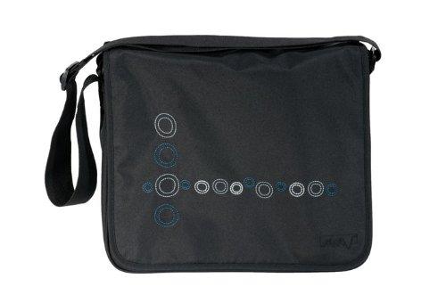 MARV Messenger Bag Bubbles black