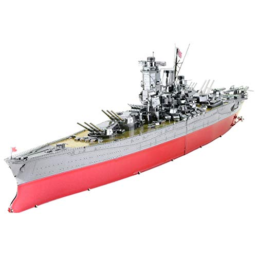 Fascinations Metal Earth ICONX Yamato Battleship 3D Metal Model Kit