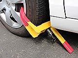 DiscountSeller Heavy Duty Car/Van Wheel Anti-Theft Security Clamp, Wheel Lock Caravan And Trailer Boot Tire Trailer for Car Truck Towing 8 Hole with 2 Keys (1)