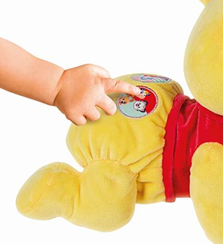 Clementoni- Disney Winnie The Pooh Gattona con Me Peluche Primi Passi, Multicolore, 17306