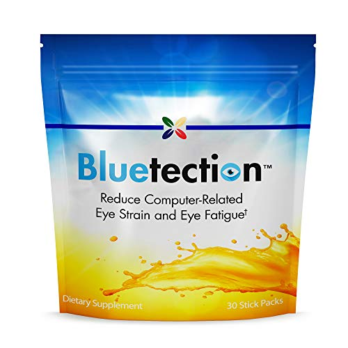 Stop Aging Now - Bluetection - Lutein and Zexanthin Carotenoid Antioxidants Blend Supports Healthy Vision and Reduced Computer-Related Eye Strain and Fatigue from Blue Light Exposure - 30 Stick Packs