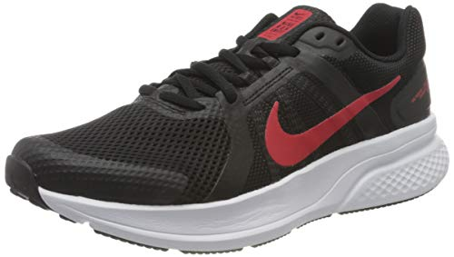 Nike Run Swift 2, Zapatillas para Correr Hombre, Black Univ Red White, 44 EU