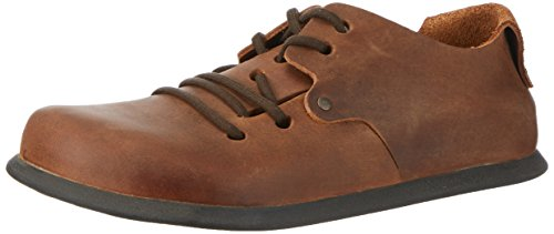 BIRKENSTOCK Shoes Unisex-Erwachsene Montana Derby, Braun (Antik Brown), 43 EU