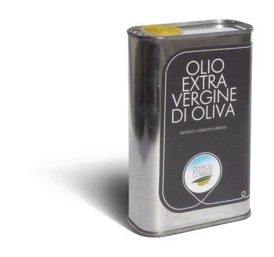 3 l - Olio extravergine di oliva del Montiferru. Olio evo sardo prodotto dall'oleificio Corrias a Riola, alle porte del Montiferru. Olio evo realizzato tramite spremitura delle olive a freddo. Olive a