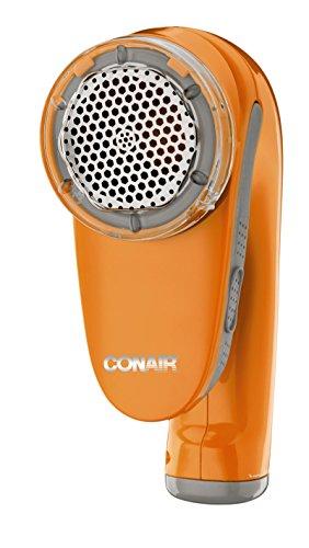 Conair Battery Operated Fabric Defuzzer/Shaver, Orange
