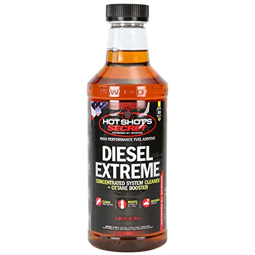 Hot Shot's Secret Diesel Extreme, 1 Qt (Packaging May Vary) (P040432Z) Amber, 32 Fluid Ounce
