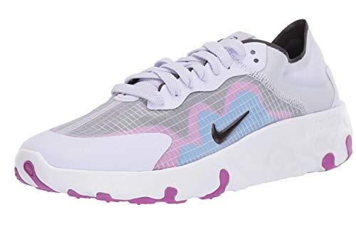 Nike CQ0258-010, Sneaker Donna, Nero/Bianco, 42 EU