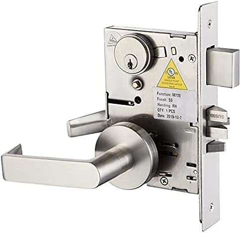 Popular Ultra-Cheap Deals product Commercial Heavy Duty Mortise Lock Handle Set for Offic Entrance