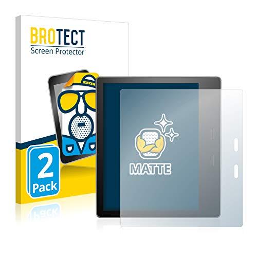 BROTECT 2X Entspiegelungs-Schutzfolie kompatibel mit Amazon Kindle Oasis 2019 (10. Generation) Displayschutz-Folie Matt, Anti-Reflex, Anti-Fingerprint