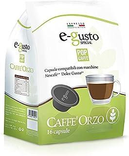 POP CAFFE' Nescafé Dolce Gusto, compatible avec 48 capsules en orge.