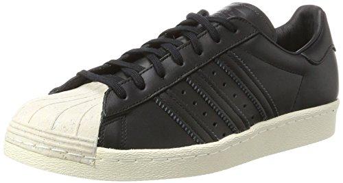 adidas Damen Superstar 80s Cork Gymnastikschuhe, Schwarz (Core Black Core Black Off White), 39 1/3 EU