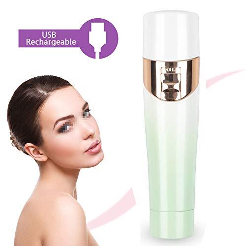 AIWKR Épilateur Facial Rechargeable USB, épilateur Facial électrique sans Douleur pour Femmes, Rasoir pour Joues, Lèvres, Jambes, Aisselles, Bikini