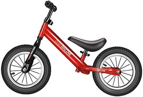 Amortiguador De Bicicletas De Balance De 12 Pulgadas Al Aire Libre, Vehículo De Entrenamiento De Bicicleta De Balance De No Pedal, Scooter, Liviano De 2 A 6 Años De Edad, Utitable Para Niños De 2 A 6