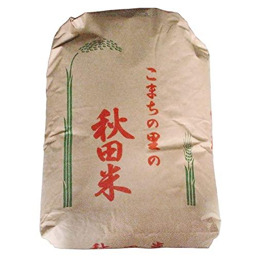 秋田県産 <特別栽培米>無化学肥料 【無洗米 白米】 ササニシキ 無農薬 無化学肥料 めんこいお米 30kg 令和3年産
