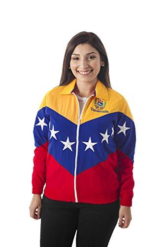 23 - 48 Chaqueta Tricolor DE LA Bandera DE Venezuela (XXL)