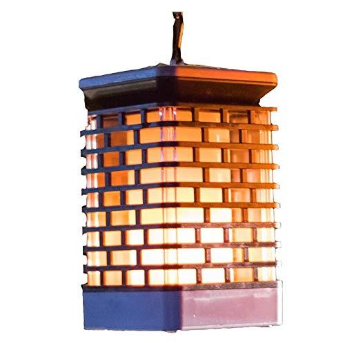 FYSH Lámpara de Pared a Prueba de Polvo a Prueba de AGU Solar llevó la lámpara Impermeable al Aire Libre Villa Patio Jardín del césped del Paisaje Luz luz Colgante del árbol