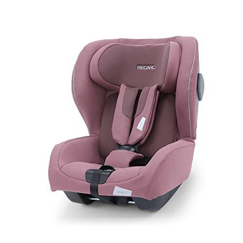 Recaro Kids, siège-auto Kio i-Size, Siège Auto Bébé Isofix réversible (face/dos route) Groupe 0/1 (60-105cm), Installation avec la base Avan/Kio, Aération Optimale, Confort et Sécurité, Pale Rose
