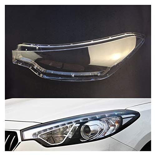 LCZ Lcbiao®. Scheinwerfer-Objektiv für KIA K3 2012 2013 2014 2015 Scheinwerferabdeckung Auto Ersatz Auto Shell (Color : Driver Side)