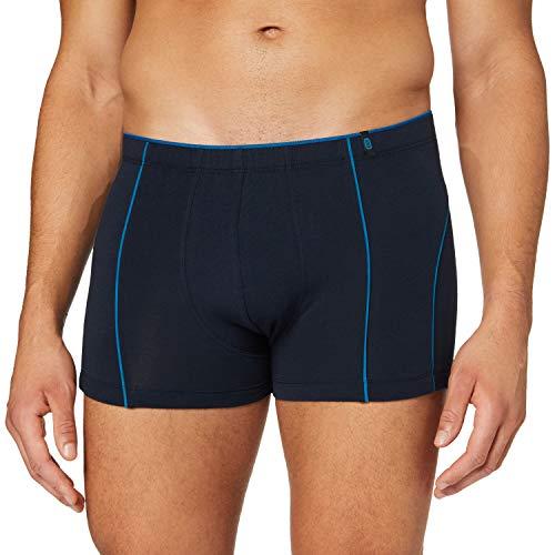 Schiesser Herren 95/5 Shorts Boxershorts, dunkelblau, L