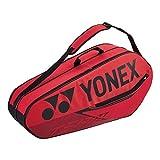 YONEX 42026 (Red)(6-Pack) Badminton Tennis Racket Bag