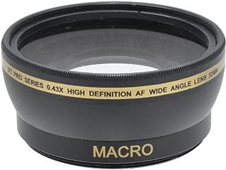 Xit XT52WAB 52mm 0.43 Wide Angle Lens (Black)