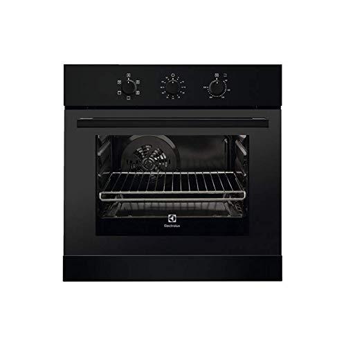 Electrolux RZB2100AJK Elektroofen, belüftet, Klasse A, 53 Liter, wärmereflektierend, traditionelles Kochen, belüftetes Kochen, Grill, Licht, Eco-Belüftung