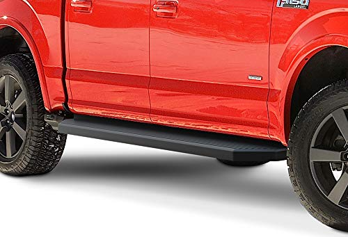 APS iBoard Black Running Boards Style Compatible...