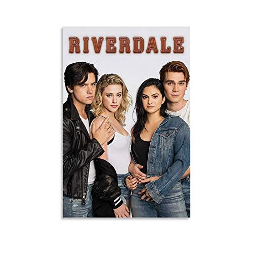 WEILEI TV-Poster Riverdale Bughead und Varchie Poster, dekoratives Gemälde, Leinwand, Wandkunst, Wohnzimmer, Poster, Schlafzimmer, Malerei, 20 x 30 cm