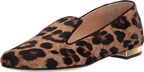 charlotte olympia Feline D'Orsay Flats Leopard Printed Pony 39 (US Women's 9) M