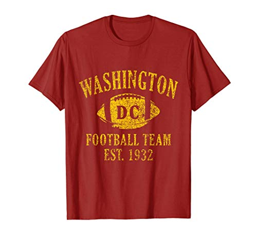 Vintage Washington Football DC Sports Team Novelty Gift T-Shirt