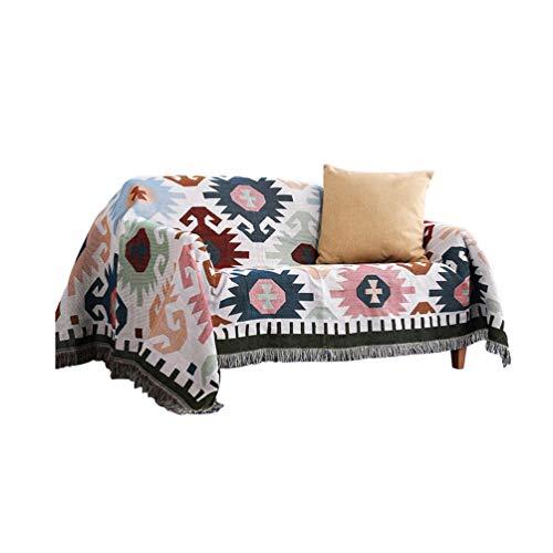 Sofaüberwurf Sofa Überwürfe Anti-Rutsch Sofabezug Sofahusse Sofa Abdeckung In Verschiedene Größe Und Farbe Stil 3 130 * 160cm