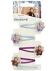 Joy Toy- Disney Frozen 2 fermacapelli, Multicolore, 19382