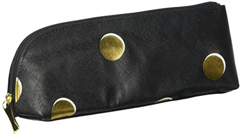 Kate Spade Pencil Case, Scatter Dot, Black (173647)