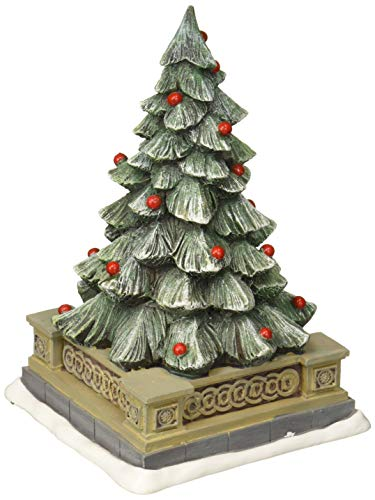 Department 56 Collections Classic Christmas Holiday Tree Figurine Village Accessory, Multicolor