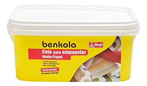 Rayt 1760-85 Benkola Cola para empapelar. Lista al Uso Pintado o Vinilo con Dorso de Papel o Tejido, 2,5kg