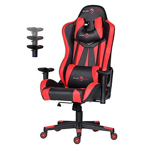 Toszn Ergonomic Video Gaming Chair 400 lb Weight Capacity Big and Tall,...