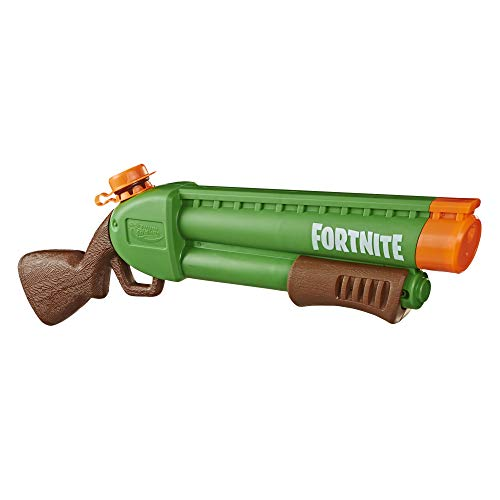 Hasbro Nerf Super Soaker - Fortnite Pump-SG, Blaster ad Acqua con Getto Azionato a Pompa, E7647