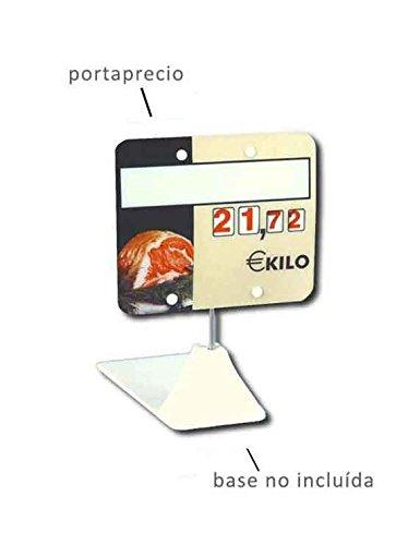 Cartel porta precios carnicería (lote 30 carteles)
