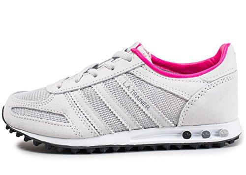 adidas La Trainer C, Scarpe da Fitness Unisex-Bambini, Grigio (Gris Griuno Griuno Negbas), 34 EU