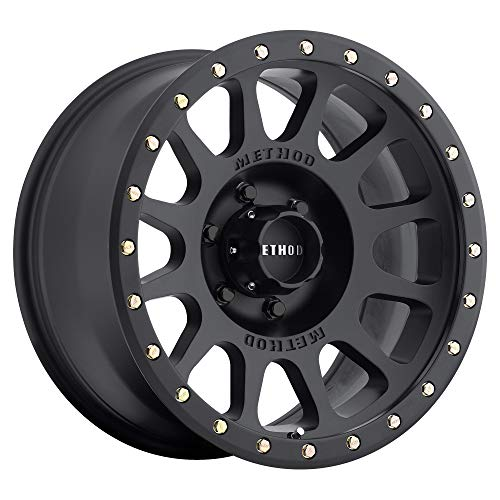 "Method Race Wheels 305 NV Matte Black 17x8.5"" 6x5.5"", 0mm offset 4.75"" Backspace, MR30578560500"