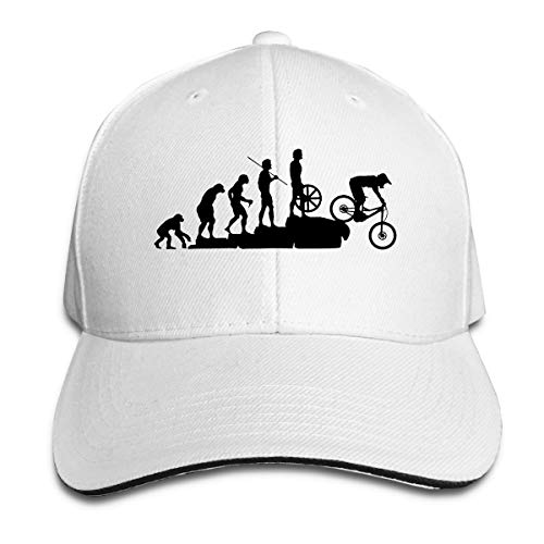 Blacaboer Shop Mountain Bike Downhill Car Casquette Classic Cotton Adjustable Baseball Plain Cap Custom Hip Hop Dad Trucker Snapback Hat White One Size