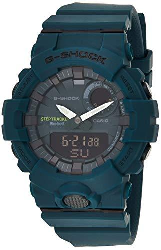 Preisvergleich Produktbild CASIO Herren Analog-Digital Quarz Uhr mit Harz Armband GBA-800-3AER
